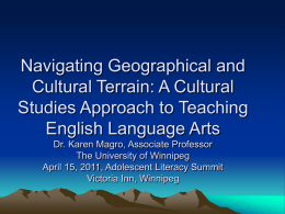 Transformative Approaches to Teaching Language Arts …
