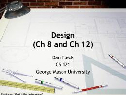 Design - George Mason University