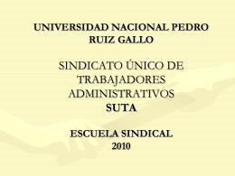 SEMINARIO ESPECIALIZADO DE SECRETARIADO JURIDICO
