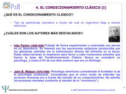 TEMA 5. EL APRENDIZAJE