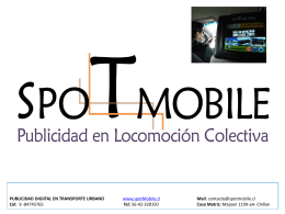 Diapositiva 1 - Tarifas Publicitarias