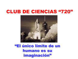 "CLUB DE CIENCIAS ""720"""