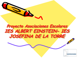 Proyecto Asociaciones Escolares IES ALBERT EINSTEIN