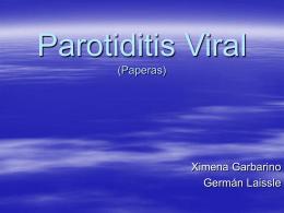 Paratiditis Viral