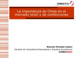 Ricardo Paredes Castro - Inicio | COMEX