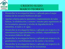 SUBDIRECCION DE METEOROLOGIA