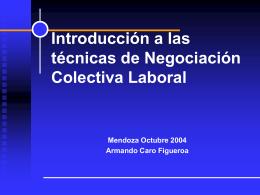 ESTRATEGIAS DE NEGOCIACION COLECTIVA