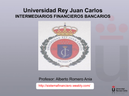 Diapositiva 1 - Prof Dr Alberto Romero Ania.