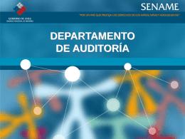 Diapositiva 1 - SENAME SERVICIO NACIONAL DE MENORES