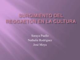 Surgimiento del Reggaeton en la Cultura
