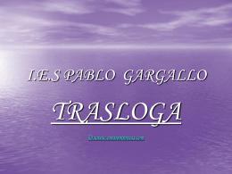 I.E.S PABLO GARGALLO