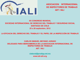 International Association of Labour Inspection