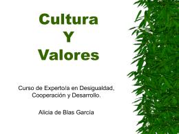 Cultura Y Valores - UCM-Universidad Complutense de …