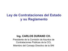 SEMINARIO DE CONTRACION PUBLICA