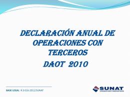 Diapositiva 1 - Colegio de Contadores Publicos del Cusco