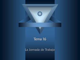 Tema 16 - ::WEB DEL PROFESOR::