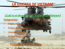Guerra De Vietnam - BLOGS DE ASIGNATURAS TRUMBULL