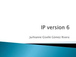 IP version 6 - 20101Redes2