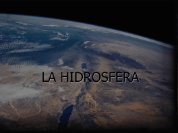 LA HIDROSFERA - Miprofe's Blog | Just another WordPress