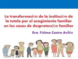 EL ACOGIMIENTO FAMILIAR