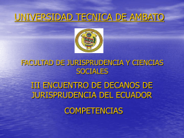 COMPETENCIAS GENERALES UTA