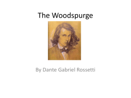 The Woodspurge - Ms Kempthorne