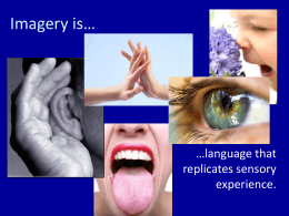 Imagery is… - Thinkport.org