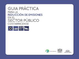 Presentacion Emisiones - Ministerio de Seguridad Publica