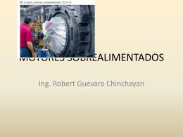 MOTORES SOBREALIMENTADOS - Biblioteca Central de la