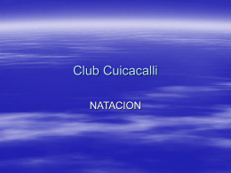 Sport City - Club Cuicacalli