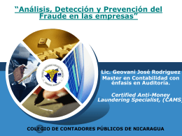 PowerPoint Template - Blogs - Universidad Centroamericana