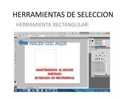 HERRAMIENTAS DE SELECCION