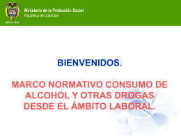 PREVENCION DE LA FARMACODEPENDENCIA EN …