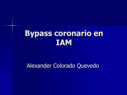 Bypass coronario en IAM - Clinical Trial Results: The