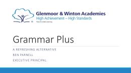 Grammar Plus - Glenmoor Academy