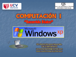 WINDOWS XP - PAGINA PRINCIPAL