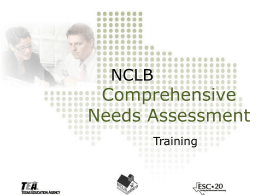 NCLB - ESC-20