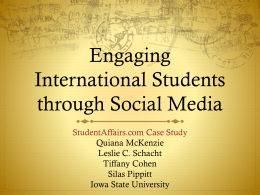 Engaging - StudentAffairs.com