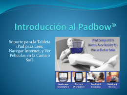 Introduction to PadbowTM