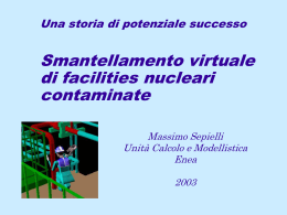 Raul Durante - Massimo Sepielli Laboratorio Plutonio Enea
