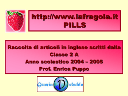 la fragola.it - Antonella Sbragi