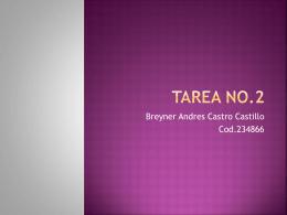 Tarea No.1