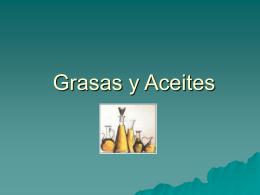 Grasas y Aceites - .:: GEOCITIES.ws