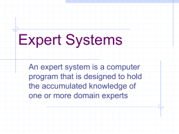 Expert Systems - Test-me