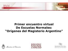 Diapositiva 1 - Biblioteca Nacional de Maestros