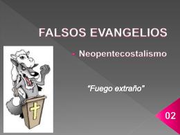 FALSOS EVANGELIOS