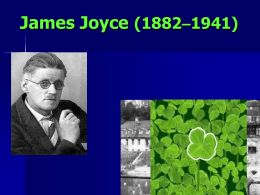 James Joyce (1882–1941) - Woodland Hills School District
