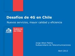 4. Posicionamiento de Chile en Desarrollo Digital Avances