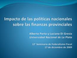 La deuda por externalidades fiscales interjurisdiccionales