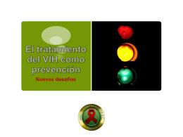 Diapositiva 1 - Amigos Contra el Sida en Internet